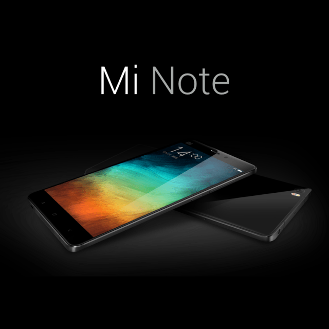 Xiaomi Mi Note Specifications and price details