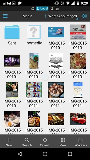 hide WhatsApp images and videos from Android Gallery