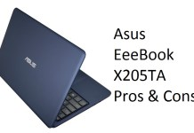 Asus EeeBook X205TA Pros, Cons & FAQ