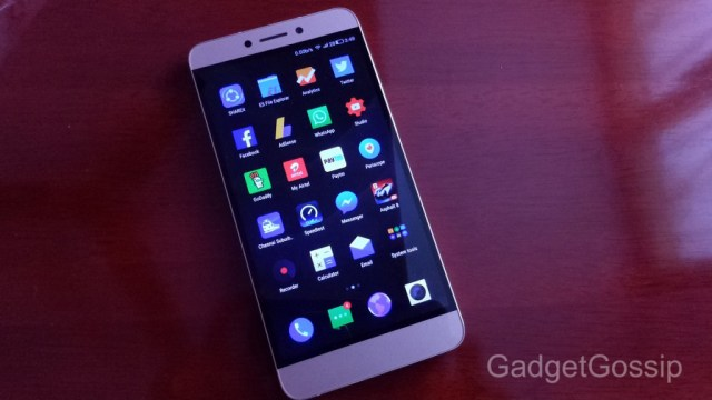 LeEco Letv Le 1S Review - Display