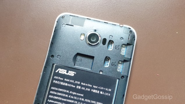 Asus Zenfone Max Review - battery image