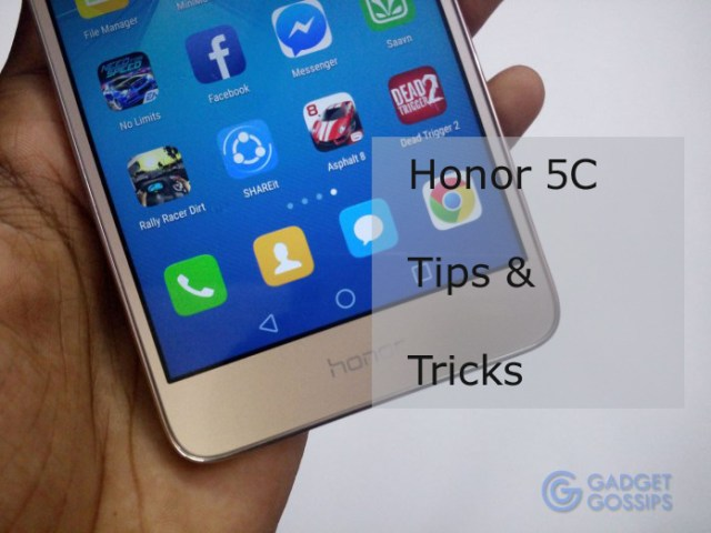 Hidden Honor 5C Tips and Tricks | EMUI on Marshmallow