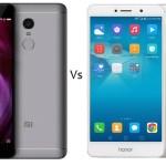 Xiaomi Redmi Note 4 Vs Honor 6X comparison - Which one to buy?