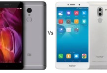 Xiaomi Redmi Note 4 Vs Honor 6X comparison - Which one to buy?