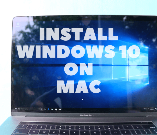 How to install Windows 10 easily on MacBook Pro or any MacOS