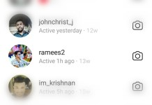 Instagram now shows 'Active At' time on Direct messages