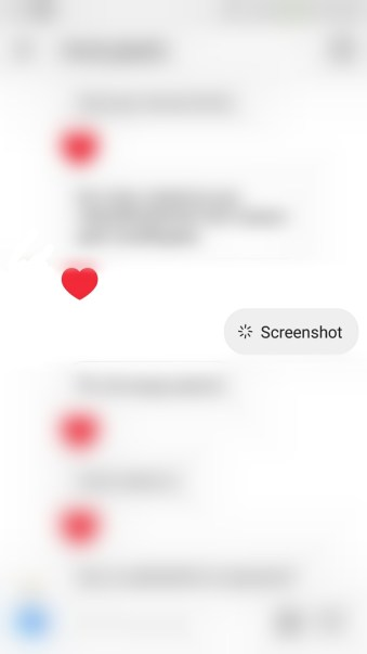 Instagram new feature - screenshot notification