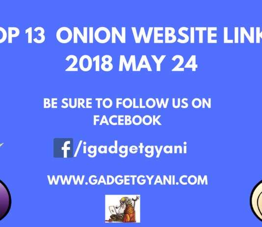 Top 13 Updated Onion Websites List 2018 May 24 | Deep Web Sites