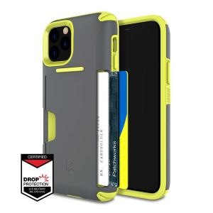 PATCHWORKS iPhone X, Xs Case [Level Wallet Series] Rugged Hybrid Shockproof Dual Layer TPU + PC Case [Military Grade Drop Test Certified] [Wireless Charging Compatible]