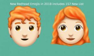The New Redhead Emoji took some time to arrive but it's worth in 2018.