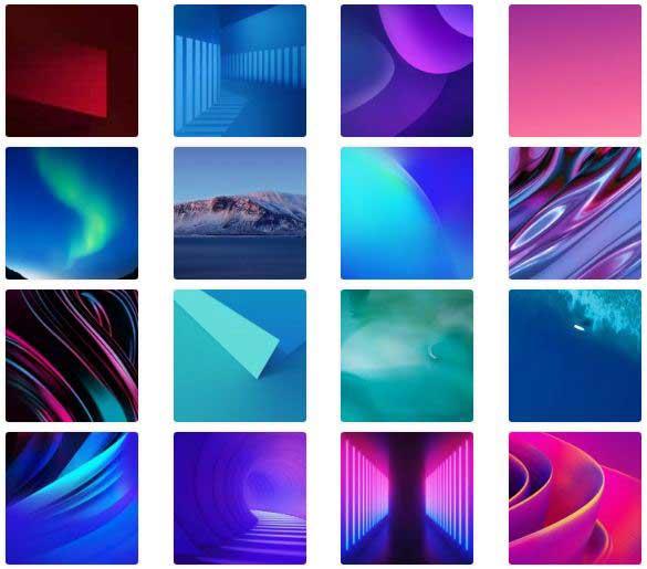 Download Vivo NEX Dual Display Stock Wallpapers