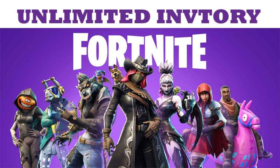 Want Unlimited Inventory in Fortnite? Check the steps