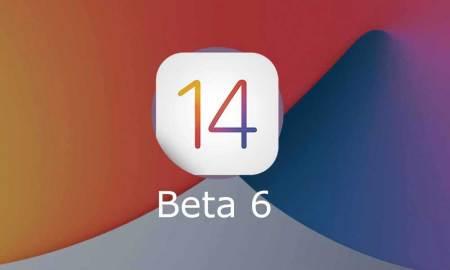 iOS 14 Beta 6 Developer and Public version releases