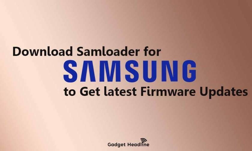 Use Samloader to Download Samsung Stock ROM