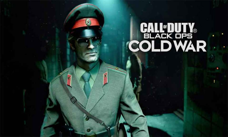 Call of Duty Black Ops Cold War Fatal Error - Fix