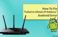 "Fix ""Failed to Obtain IP Address"" Android Error"