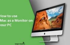 Steps to use iMac as a Monitor on your PC