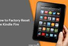 Steps to Factory Reset the Kindle Fire