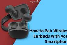 Guide to Pair Wireless Earbuds with your Smartphone