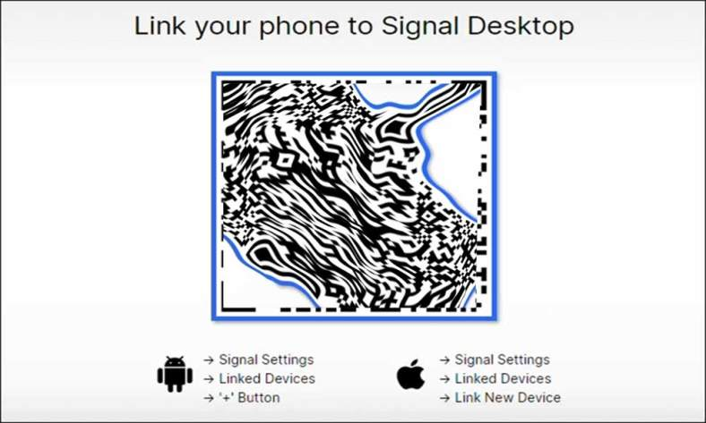 Steps to set up and link Signal to your PC