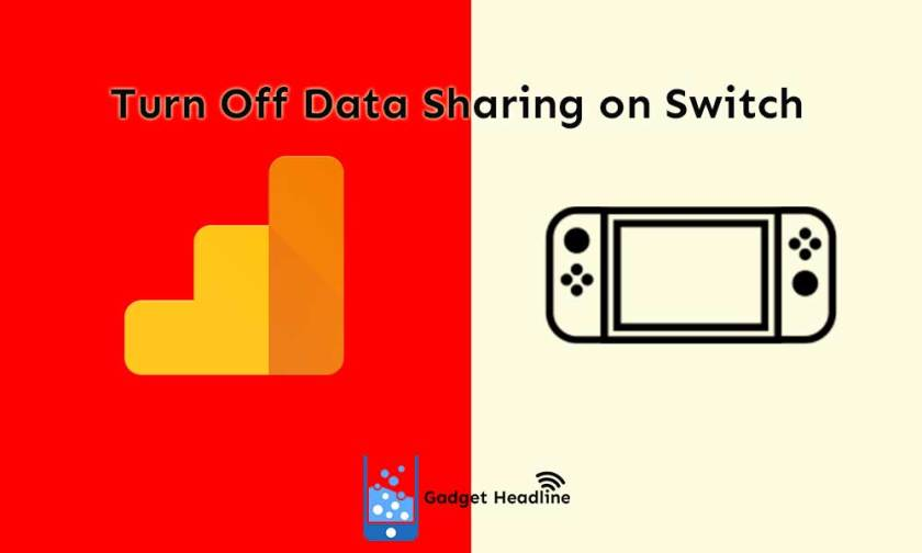 Guide to turn off data sharing via Google Analytics on Nintendo Switch