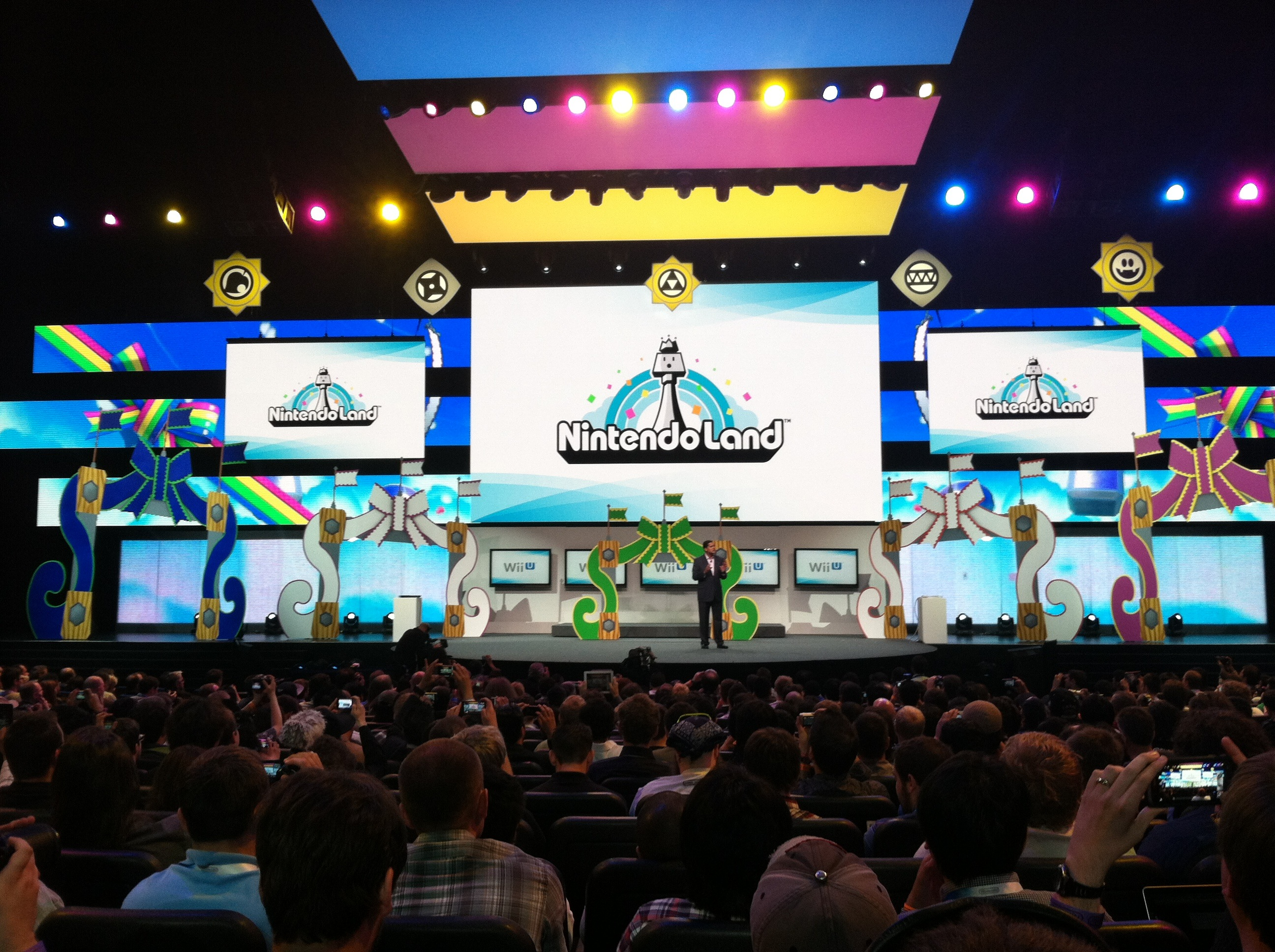 E3 2012 Nintendo Presentation Part 3 Wii U Third Party