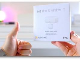 Eve Door & Window - sensore smart homekit google home alexa - recensione review   GadgetLand.it