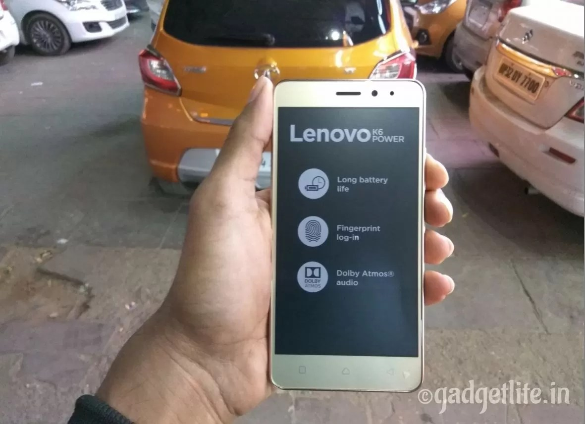 Lenovo K6 Power, a power-pack Smartphone Hands on Review