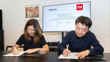 Nokia Xiaomi sign patent deal