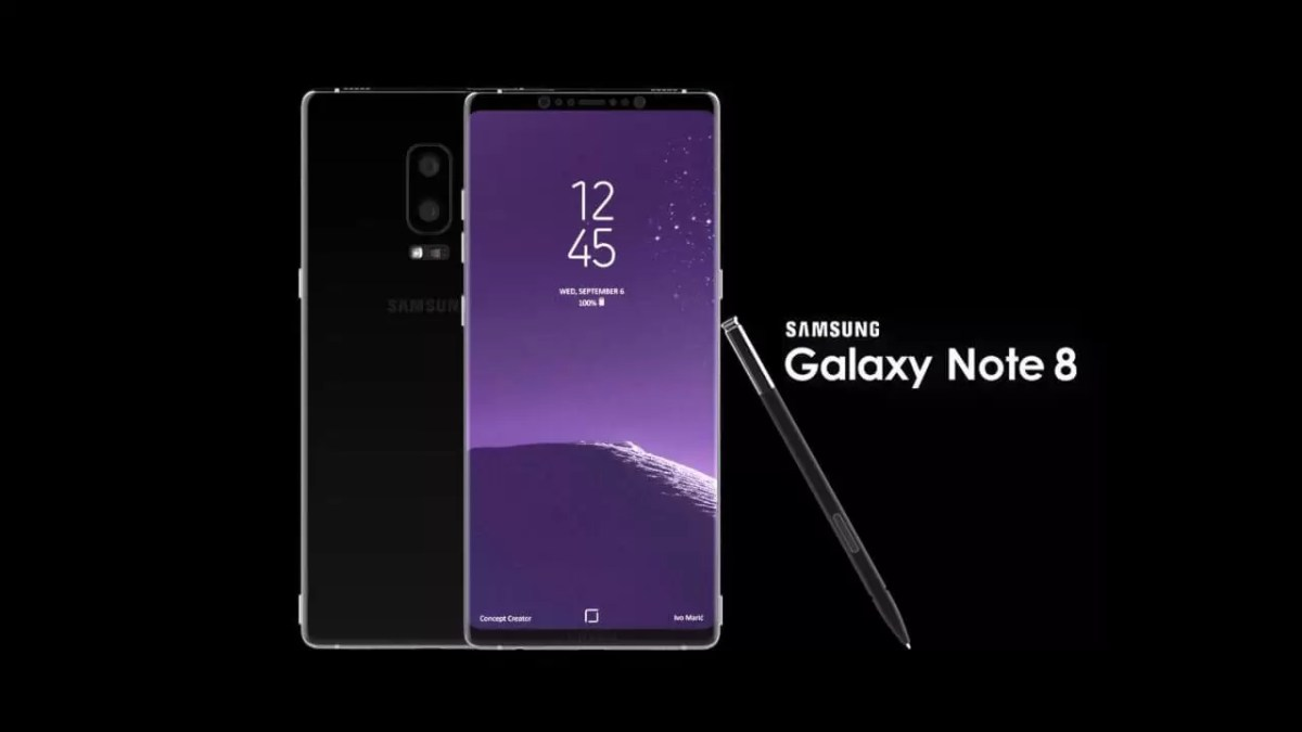 Samsung Galaxy Note 8 to have 12MP+13MP Dual cameras with OIS and Dual-Sim