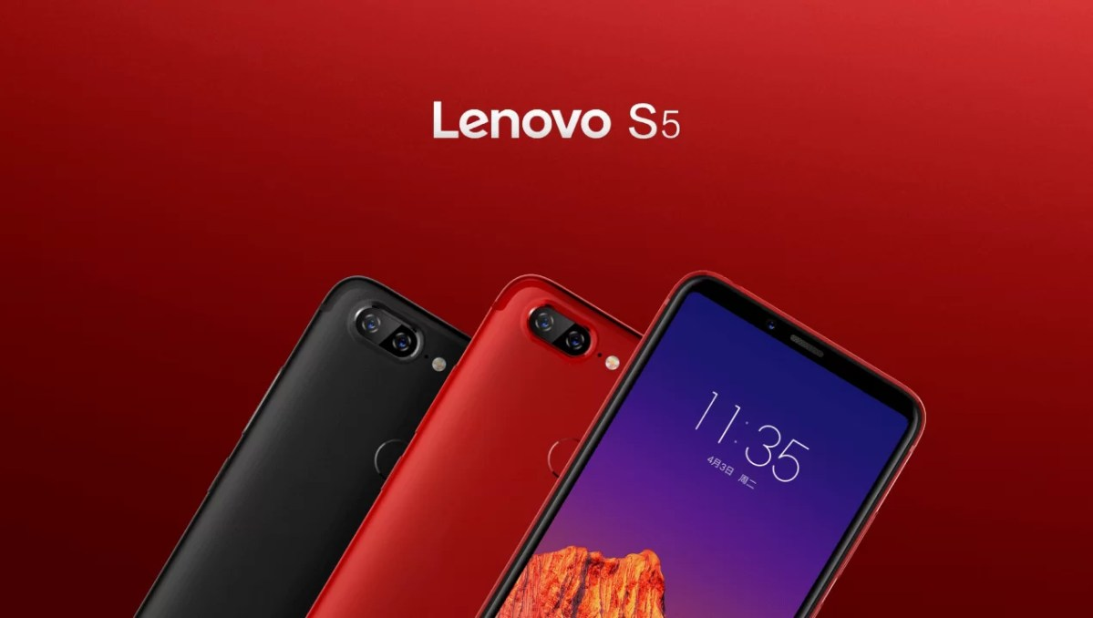 Lenovo S5 launched in China to take on Redmi Note 5; Specs, Price
