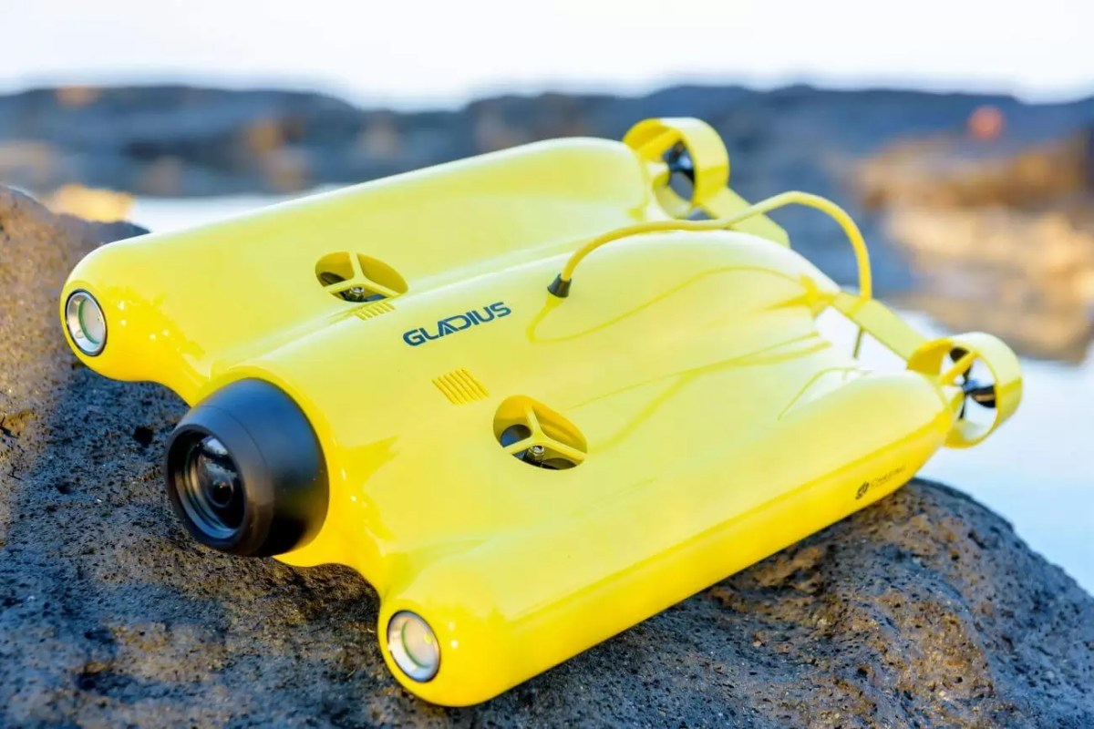 Capture Underwater masterpieces with Gladius Advanced pro Underwater Drone