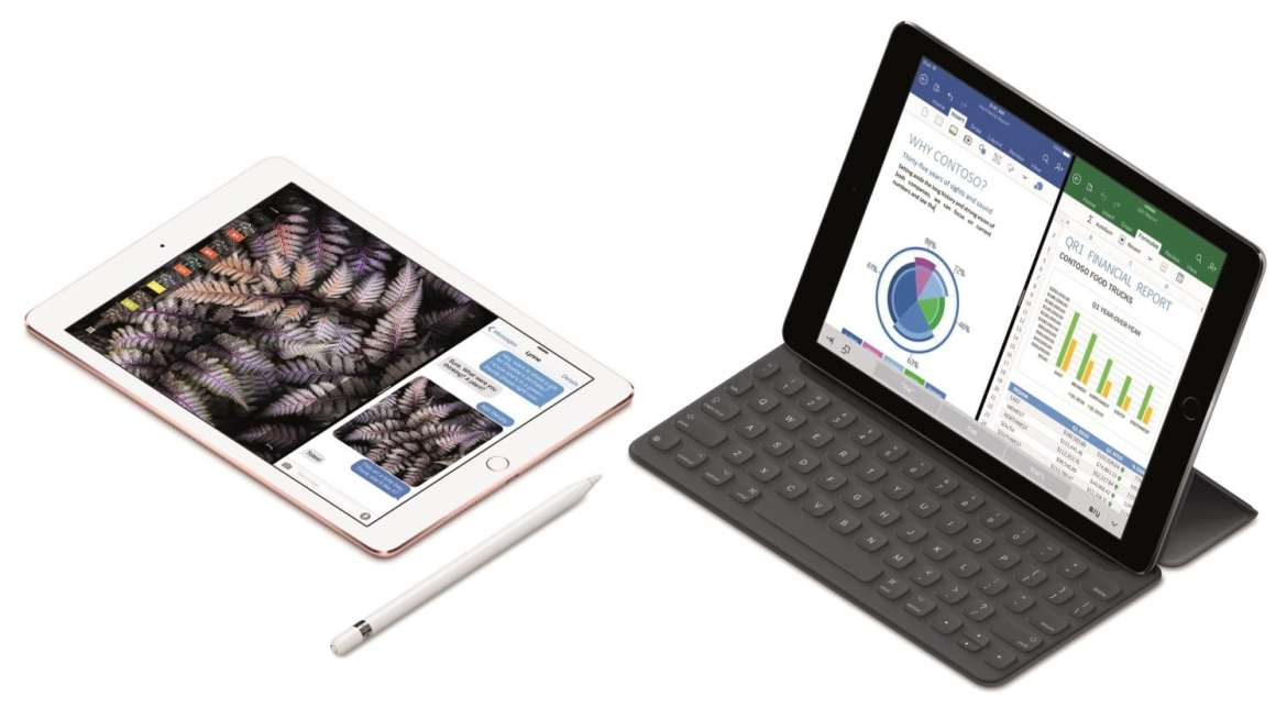 Apple new iPad Pro with keyboard cover
