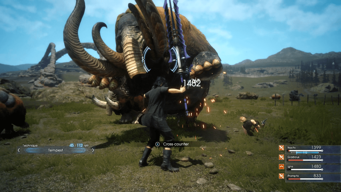 Final Fantasy XV demo b