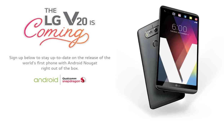 LG V20 Nougat