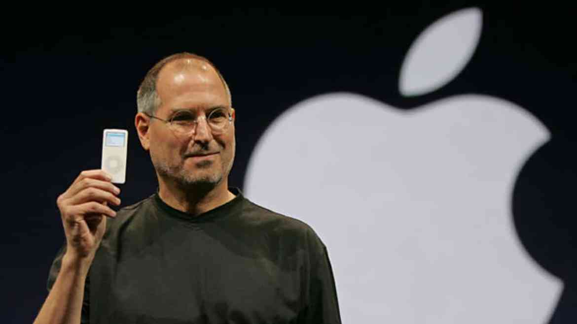Steve Jobs introduces the iPod nano