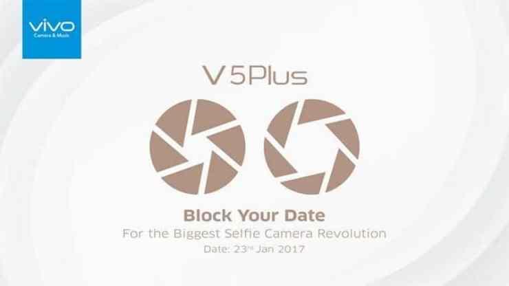 Vivo V5 Plus invite