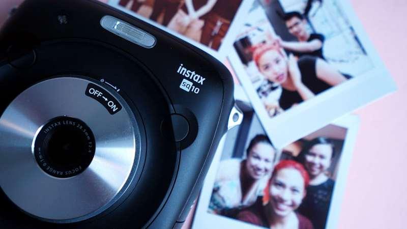 Details of the Fujifilm Instax SQ10