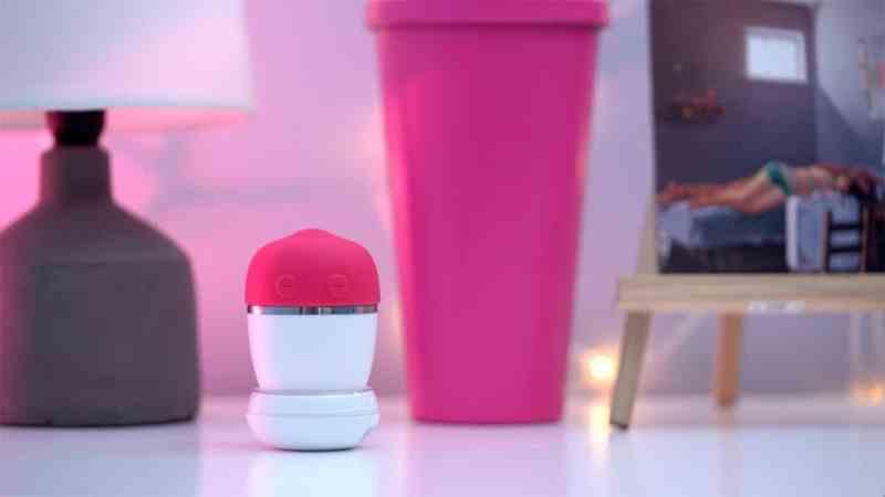 LoveNut pink vibrator