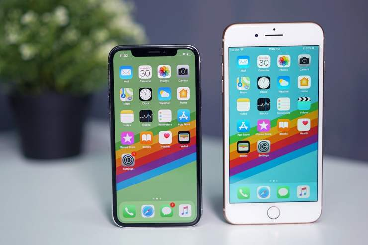 The IPhone X Has Tallest Screen On An To Date But Is Significantly Smaller Than 8 Plus Its Also First With OLED
