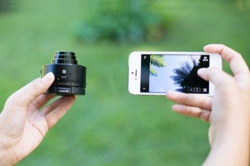 Sony QX10 and QX100 Smartphone Lenses 1