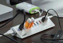 Sentey Aluminium 10 Ports USB 3.0 Hub 02