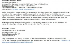 , Firefox Mobile for Windows and Android [Update: Fennec for Android], Gadget Pilipinas, Gadget Pilipinas