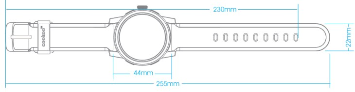 Watchband Line drawing