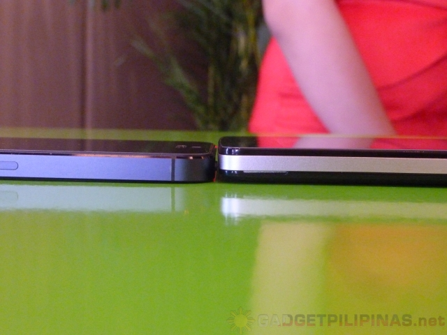 iPhone 5 (left) and Flame 2.0 (right)