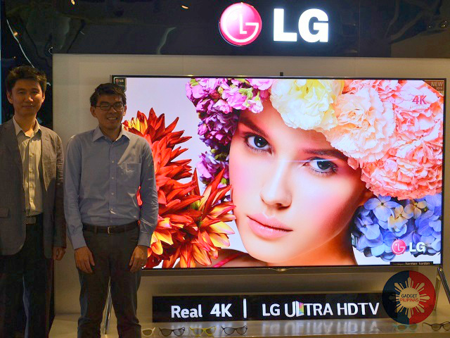 LG UHDTV GP