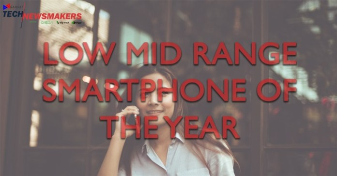 Low midrange smartphone of the year