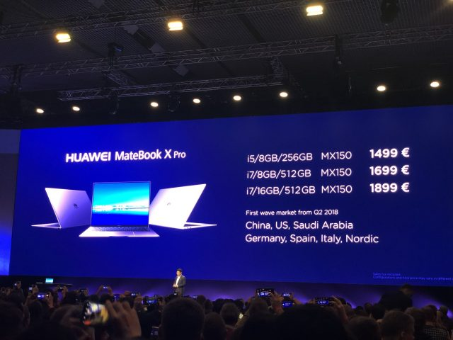 Huawei Matebook, The Huawei Matebook X Pro could be the best looking laptop ever, Gadget Pilipinas, Gadget Pilipinas