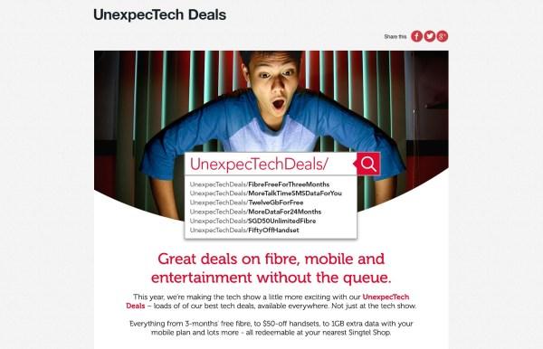 UnexpecTech Campaign Page