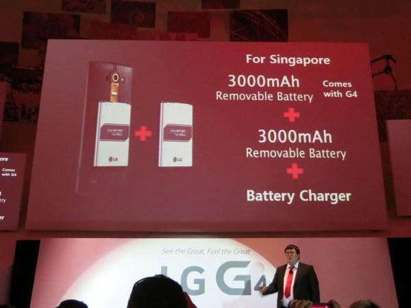 LG G4 Singapore Promo